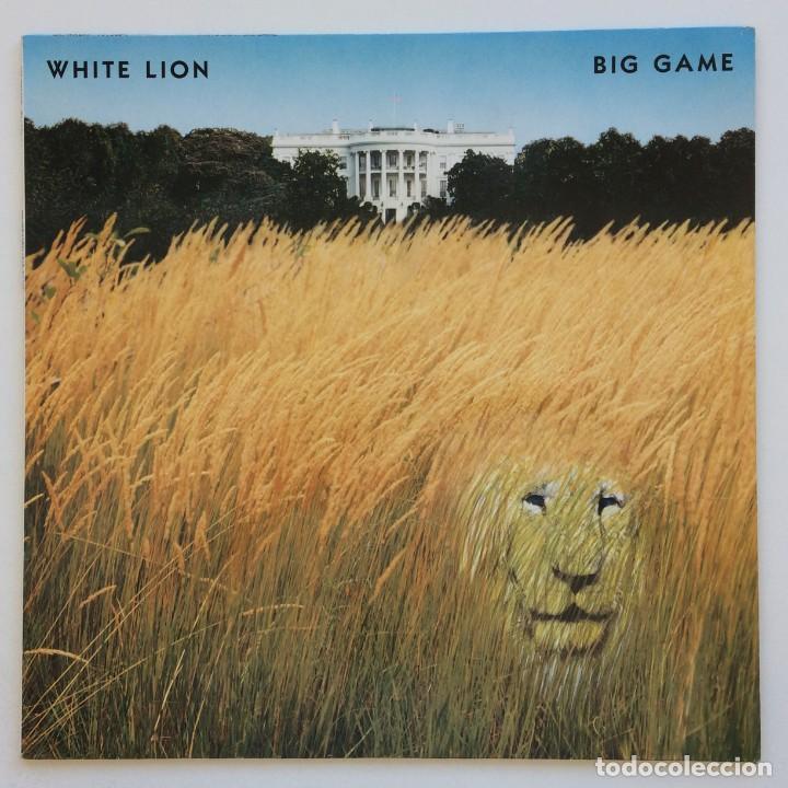 WHITE LION – BIG GAME GERMANY,1989 ATLANTIC (Música - Discos - LP Vinilo - Heavy - Metal)