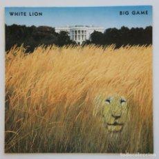 Discos de vinilo: WHITE LION – BIG GAME GERMANY,1989 ATLANTIC. Lote 37060114