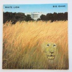 Discos de vinilo: WHITE LION – BIG GAME USA,1989 ATLANTIC. Lote 268170519