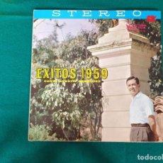 Discos de vinilo: AGUSTIN BERMUDEZ EXITOS DE 1959. Lote 268172654