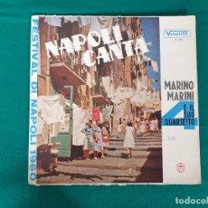 Discos de vinilo: LP MARINO MARINI NAPOLI CANTA VENEVOX 605 VENEZUELA ESTIVAL DI NAPOLI 1960. Lote 268172799