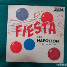 Discos de vinilo: NAPOLEÓN ZAYAS FIESTA. Lote 268173144