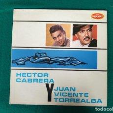 Discos de vinilo: HECTOR CABRERA CON JUAN VICENTE TORREALBA. Lote 268173349