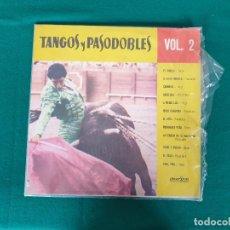 Discos de vinilo: TANGOS Y PASODOBLES VOLUMEN 2. Lote 268173969