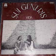 Discos de vinilo: LP SUI GENERIS- VIDA 1972 ORIGINAL. Lote 268178824