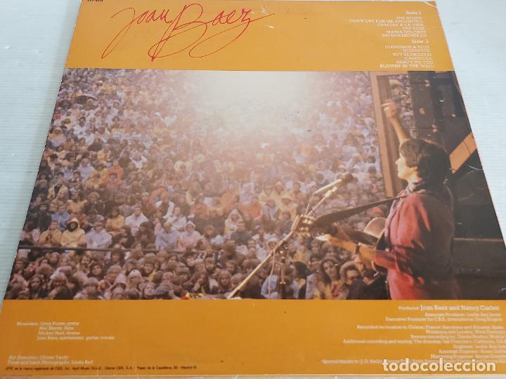 Discos de vinilo: JOAN BAEZ / TOUR EUROPEA / LP-PROMO - PORTRAIT-1982 / MBC. ***/*** - Foto 2 - 268255504