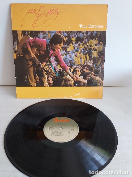 JOAN BAEZ / TOUR EUROPEA / LP-PROMO - PORTRAIT-1982 / MBC. ***/*** (Música - Discos - LP Vinilo - Cantautores Internacionales)
