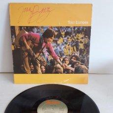 Discos de vinilo: JOAN BAEZ / TOUR EUROPEA / LP-PROMO - PORTRAIT-1982 / MBC. ***/***. Lote 268255504