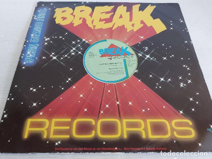 Discos de vinilo: BREAK RECORDS / I GOT THE FEELIN / MAXI SG - BREAK-HOLLAND-1984 / MBC. ***/*** - Foto 2 - 268256779