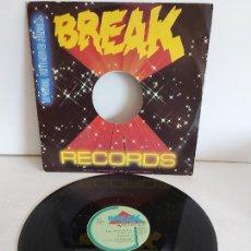 Discos de vinilo: BREAK RECORDS / I GOT THE FEELIN / MAXI SG - BREAK-HOLLAND-1984 / MBC. ***/***. Lote 268256779