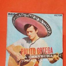 Discos de vinilo: PALITO ORTEGA. LA CHEVECHA. RCA VICTOR 1969. MUY BUEN ESTADO.. Lote 268276064