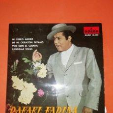Discos de vinilo: RAFAEL FARINA. MI PERRO AMIGO. ODEON 1961. MUY BUEN ESTADO. Lote 268279209