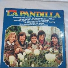 Discos de vinilo: 48343 - LP - LA PANDILLA - TOMAME O DEJAME - CHICO PACO - EL ALACRAN - AÑO 1974. Lote 268285219