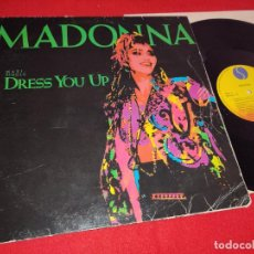Disques de vinyle: MADONNA DRESS YOU UP/DRESS YOU UP/SHOO BEE DOO 12'' MX 1985 SIRE ESPAÑA SPAIN. Lote 268293919