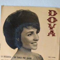 Discos de vinilo: DOVA- EP SELLO ODEÓN-SINGLE- 1963- ÚNICO EN TC.. Lote 268300569