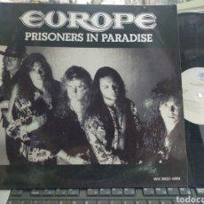 Discos de vinilo: EUROPE MAXI PROMOCIONAL PRISONERS IN PARADISE ESPAÑA 1991. Lote 268308989