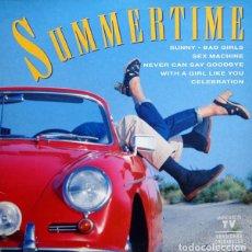 Discos de vinilo: SUMMERTIME * LP VINILO * 70'S DISCO * 1993 SPAIN POLYSTAR * RARE. Lote 268318244