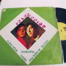Discos de vinilo: JUAN Y JUNIOR-LP. Lote 268322009