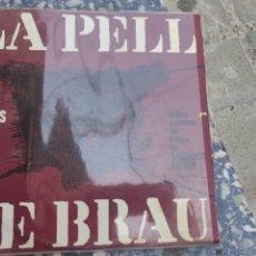 Discos de vinilo: LA PELL DE BRAU. NARCIS DE BRAU. Lote 268388359