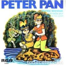 Discos de vinilo: PETER PAN - SINGLE RCA 1967 - VERSION NARRADA POR EVANGELINA SALAZAR. Lote 268401164