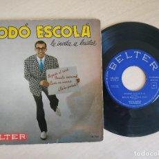 Discos de vinilo: DODÓ ESCOLÁ Y SU CONJUNTO - ME GUSTA EL ROCK + 3 - MUY RARO EP BELTER DEL AÑO 1960 BUEN ESTADO. Lote 268407209
