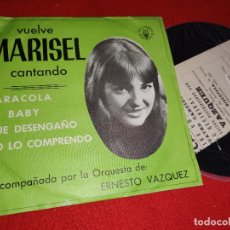 "Discos de vinil: MARISEL & ERNESTO VAZQUEZ CARACOLA / MI BABY ..+2 7"" EP 1980 GRAMUSIC BEAT PROMO. Lote 268412459"
