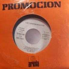 Discos de vinilo: LOS TOREROS MUERTOS YO NO ME LLAMO JAVIER ,BARES,BARES. Lote 268412954