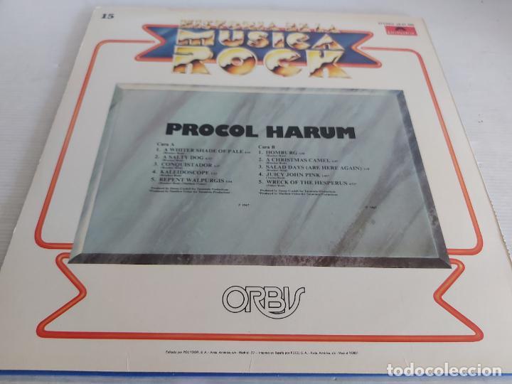 Discos de vinilo: PROCOL HARUM / HISTORIA DE LA MÚSICA ROCK / 15 / LP - POLYDOR-1982 / MBC. ***/*** - Foto 2 - 268418284