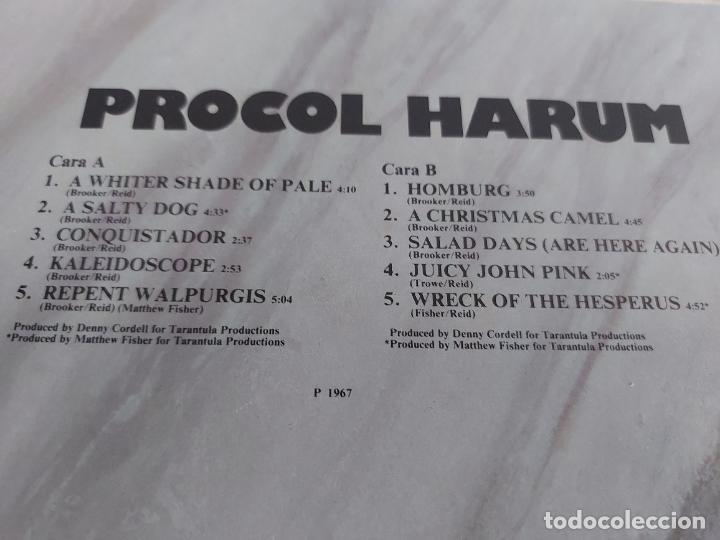 Discos de vinilo: PROCOL HARUM / HISTORIA DE LA MÚSICA ROCK / 15 / LP - POLYDOR-1982 / MBC. ***/*** - Foto 3 - 268418284