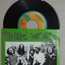 "Discos de vinilo: 7"" THIRD WORLD, TALK TO ME, PARTS 1 & 2. Lote 268421069"