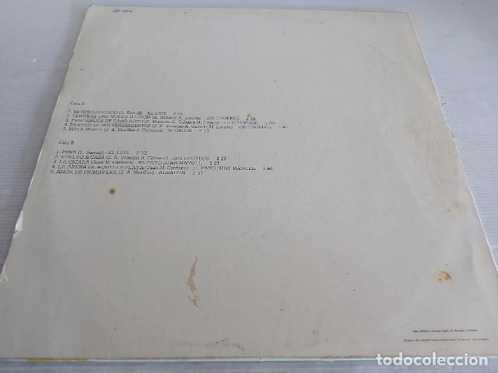 Discos de vinilo: LOS CHORBOS-EL LUIS-EL PAYO JUAN MANUEL-ALBAIZIN / LP - CAUDAL-1978 / MBC. ***/*** - Foto 2 - 268421554