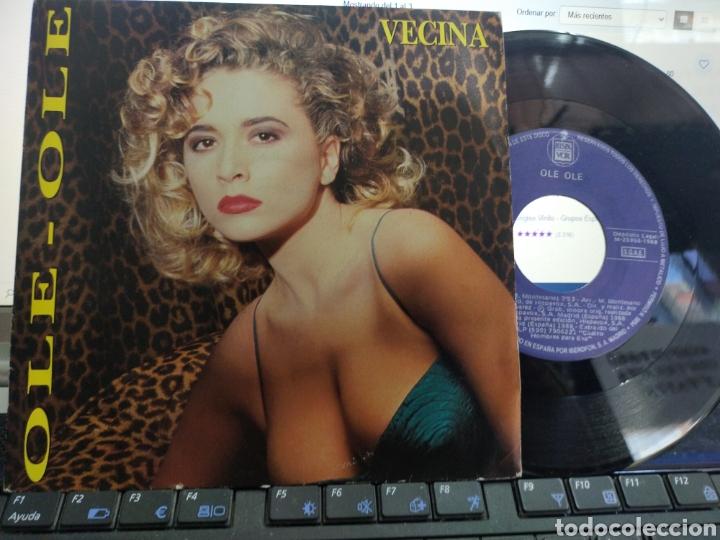 OLE OLE SINGLE VECINA 1988 (Música - Discos - Singles Vinilo - Grupos Españoles de los 70 y 80)
