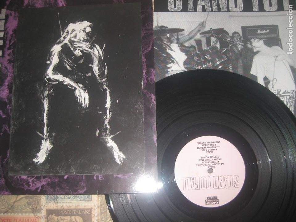 STAND TO FALL ?– STAND TO FALL (1989X-MIST RECORDS) OG ALEMANIA EXCELENTE CONDICION HARCORE PUNK (Música - Discos - LP Vinilo - Punk - Hard Core)