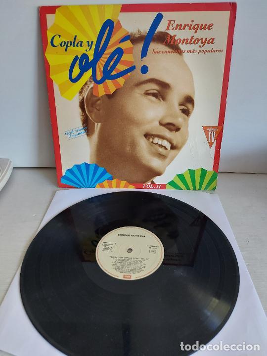 ENRIQUE MONTOYA / COPLA Y OLÉ ! VOL. 11 / LP - EMI-1992 / MBC. ***/*** (Música - Discos - LP Vinilo - Flamenco, Canción española y Cuplé)