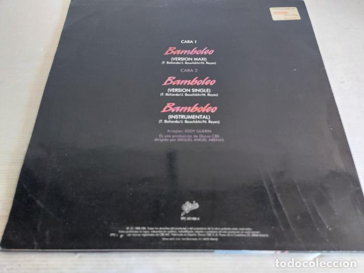 Discos de vinilo: TIJERITAS / BAMBOLEO / MAXI SG - EPIC-1988 / MBC. ***/*** - Foto 2 - 268425139