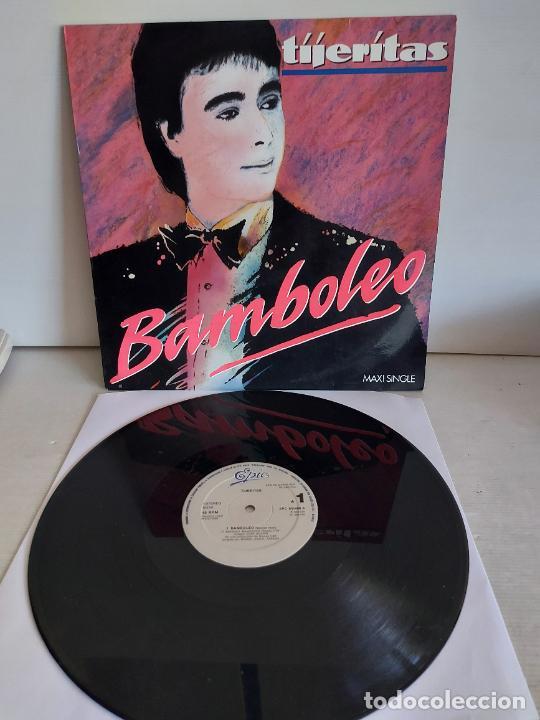 TIJERITAS / BAMBOLEO / MAXI SG - EPIC-1988 / MBC. ***/*** (Música - Discos - LP Vinilo - Flamenco, Canción española y Cuplé)