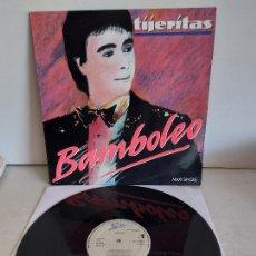 Discos de vinilo: TIJERITAS / BAMBOLEO / MAXI SG - EPIC-1988 / MBC. ***/***. Lote 268425139