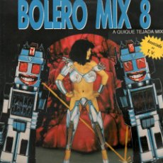 Disques de vinyle: BOLERO MIX 8 - A QUIQUE TEJADA MIX / DOBLE LP B/N MUSIC DE 1991 / BUEN ESTADO RF-9686. Lote 268456649