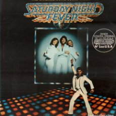 Disques de vinyle: SATURDAY NIGHT FEVER - THE ORIGINAL MOVIE SOUND TRACK / 2 LP RSO RECORDS 1977 RF-9687. Lote 268456769