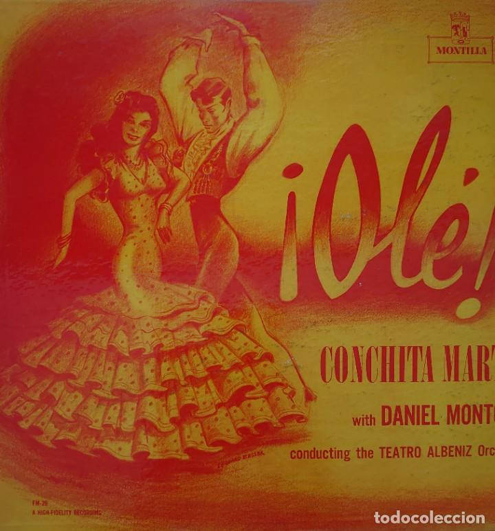 CONCHITA MARTÍN LP SELLO MONTILLA EDITADO EN USA... (Música - Discos - LP Vinilo - Flamenco, Canción española y Cuplé)