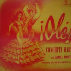 Discos de vinilo: CONCHITA MARTÍN LP SELLO MONTILLA EDITADO EN USA.... Lote 268459649