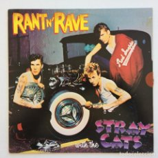 Discos de vinilo: STRAY CATS – RANT N' RAVE SCANDINAVIA,1983 ARISTA. Lote 268459714
