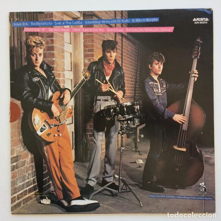 Discos de vinilo: Stray Cats – Rant N Rave Scandinavia,1983 Arista - Foto 2 - 268459714