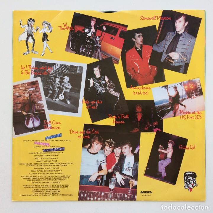Discos de vinilo: Stray Cats – Rant N Rave Scandinavia,1983 Arista - Foto 4 - 268459714
