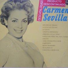 Discos de vinilo: CARMEN SEVILLA LP SELLO PHILIPS EDITADO EN MÉXICO AÑO 1964.... Lote 268459834