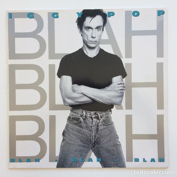 IGGY POP – BLAH-BLAH-BLAH GERMANY,1986 A&M RECORDS (Música - Discos - LP Vinilo - Punk - Hard Core)