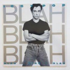 Discos de vinilo: IGGY POP – BLAH-BLAH-BLAH GERMANY,1986 A&M RECORDS. Lote 268461814