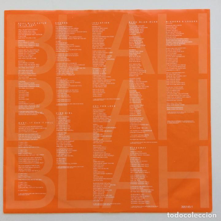 Discos de vinilo: Iggy Pop – Blah-Blah-Blah Germany,1986 A&M Records - Foto 4 - 268461814