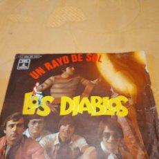 Discos de vinil: BAL-5 DISCO VINILO 7 PULGADAS LOS DIABLOS UN RAYO DE SOL. Lote 268463629