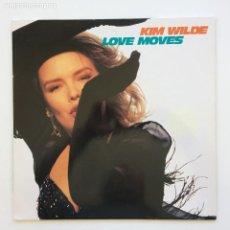 Discos de vinilo: KIM WILDE – LOVE MOVES GERMANY,1990 MCA RECORDS. Lote 268465399